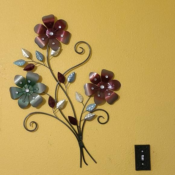 Wall Art Wall Flower Decor Poshmark